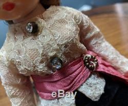 Vintage Madame Alexander Cissette Cissy 1957 #905 Tagged Toreador Pants