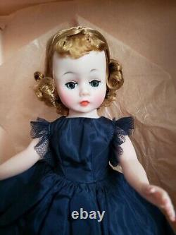 Vintage Madame Alexander Cissette Doll #931 Reversible #941 Navy Taffeta Dress