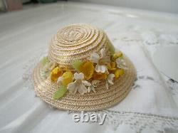 Vintage Madame Alexander Cissette in Yellow Dotted Swiss Beautiful