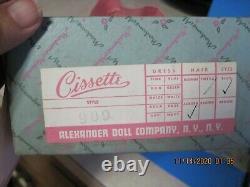 Vintage Madame Alexander Cissette /m/i/b/ Booklet