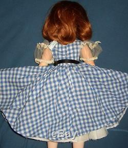 Vintage Madame Alexander Cissy 20 Or 21 Tall Two Tags Replaced Wig