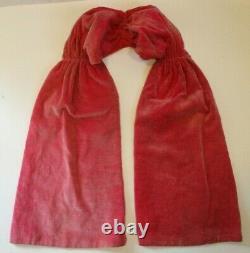 Vintage Madame Alexander Cissy Doll Pink Rose Tagged Dress & Shall, Ring, Etc