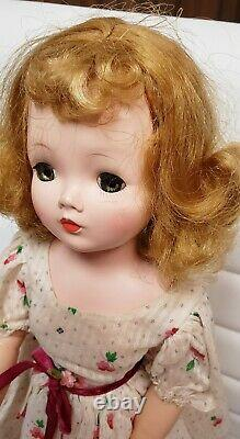 Vintage Madame Alexander Cissy Doll with Stand