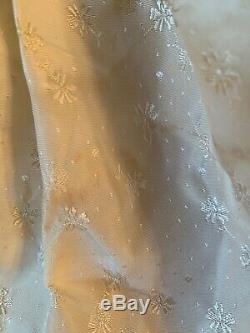 Vintage Madame Alexander Cissy Tagged Queen Elizabeth Tafferra Gown With Sash