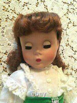 Vintage Madame Alexander Doll 14 1950s Maggie Face Scarlett O'Hara Dress Tagged