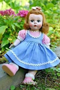 Vintage Madame Alexander Doll Alexander-kins 1953 Slnw Wendy Beautiful Doll