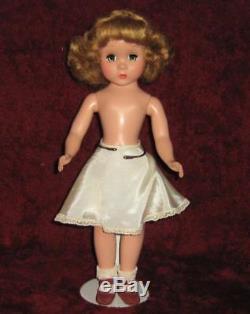 Vintage Madame Alexander Doll Maggie 14 Hard Plastic Original Dress & Hang Tag