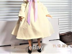 Vintage Madame Alexander Elise 1957-1964 approx 16 Tagged Dress and Coat, Hat