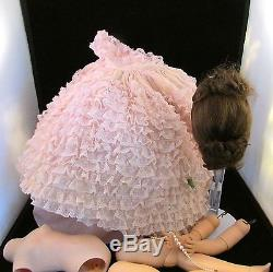 Vintage Madame Alexander Elise Doll in Lavender Lace Ball Gown-1960s-Rare