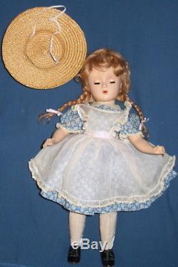 Vintage Madame Alexander Hard Plastic 14 Mcguffey Ana Doll Margaret Face