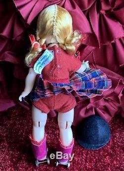Vintage Madame Alexander Kin Roller Skater Doll Bkw