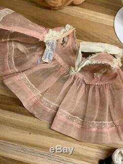 Vintage Madame Alexander Kins 1953 With Lovely Tagged Outfit