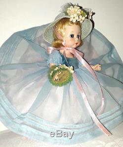 Vintage Madame Alexander Kins 8 Wendy Doll 1953 Blue Danube SLW Walker