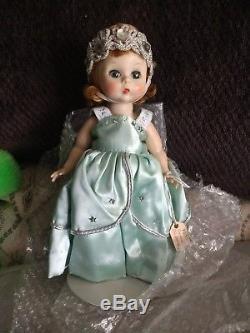 Vintage Madame Alexander Kins Cinderella Aqua Dress Bride Doll SLW 8