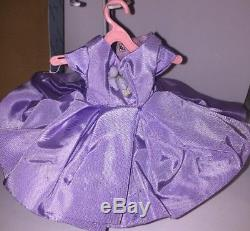 Vintage Madame Alexander Lilac Going to The Matinee Doll Outfit w Box + Hat +