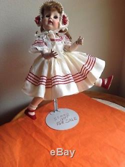 Vintage Madame Alexander Madeline 1953 RARE HTF