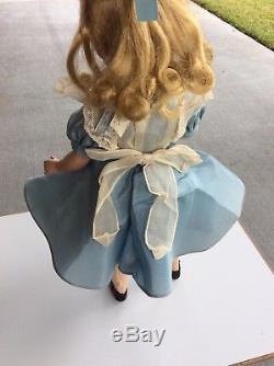 Vintage Madame Alexander Maggie Alice In Wonderland Doll HP 14
