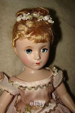Vintage Madame Alexander Nina Ballerina Doll, hard plastic, 14 Circa 1949 NICE