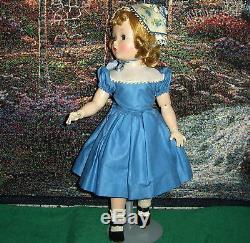 Vintage Madame Alexander Sweet Violet 18 Bent Elbows + Knees + A Walker