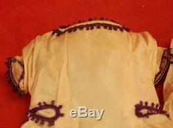 Vintage Madame Alexander Sweet Violet Lavender Purple Coat & Dress 18 Cissy