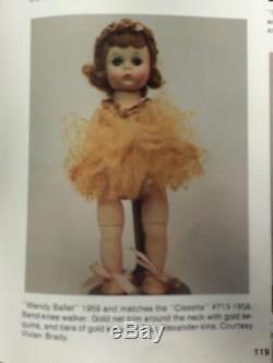 Vintage Madame Alexander Wendy Ballet 1959 HP BKW