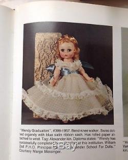Vintage Madame Alexander Wendy Graduation, #399-1957 BKW