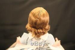 Vintage Madame Alexander Wendykins NURSE withBaby #363, 8 BKW, Blonde, mark ALEX