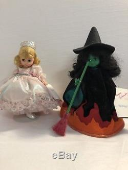 Vintage Madame Alexander Wizard of Oz Dolls, Lot of 10, 1990s