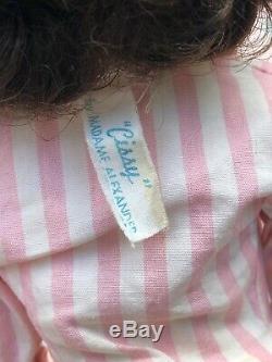 Vintage Madame Alexander brunette Cissy doll
