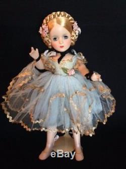 Vintage Madame Alexander doll Ballerina, 14inches