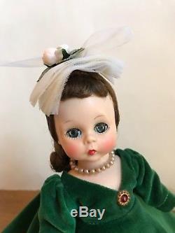 Vintage Madame Alexander-kins Doll 1956 Rare HTF Melanie Green Velvet