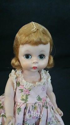 Vintage Madame Alexander -kins Doll Blonde bent knee Wendy face c1954