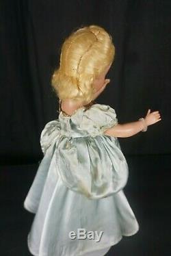 Vintage Margaret Face Madame Alexander 14 Cinderella 1950 no box, tagged dress