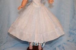 Vintage Tagged Madame Alexander Cissy Dress Organdy Polka Dot 1956 Boxed Extra