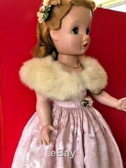 Vintage VERY RARE Binnie Walker Doll 24 Madame Alexander with original hairnet