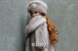 Violet Swing Mink Fur Coat Hat & Muff 4 Madame Alexander Cissy dollsdimitha
