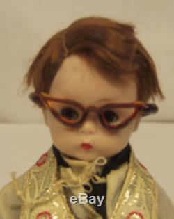 Vtg 1957 Madame Alexander Kins LITTLE MINISTER 411 Bent Knee Walker 8 Doll RARE