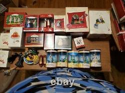 Wizard of Oz Hallmark Keepsake ornaments lot / Wb Miniature Collection lot